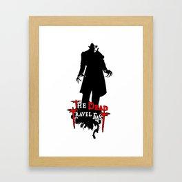 Nosferatu Travel Fast  Framed Art Print