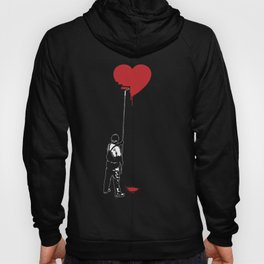 Heart Painter Graffiti Love Hoody