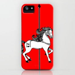 Chinese New Year of the Horse iPhone Case