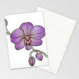 Orchid: Beauty Stationery Cards