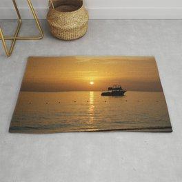 Sunset in Jamaica  Rug
