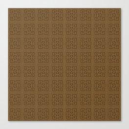Maya pattern 3  Canvas Print