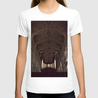 college T-shirts featuring King's College Cambridge by David Hohmann