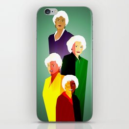GOLDEN GIRLS  iPhone Skin