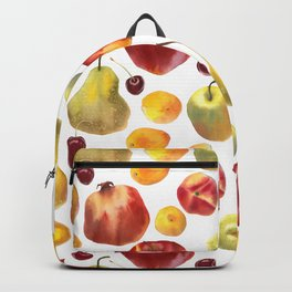 Watercolor frut Backpack
