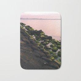 Green Stones and Skyline Bath Mat