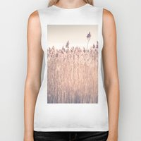 cape cod Biker Tanks featuring Cape Cod Salt Marsh by ELIZABETH THOMAS Photography of Cape Cod