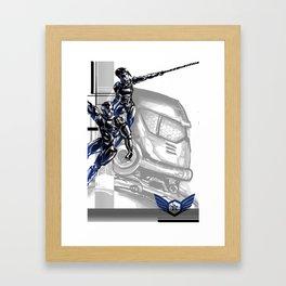 Pacific Rim: Team G! Danger Framed Art Print
