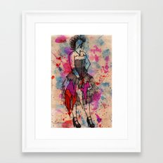 Punkd Framed Art Print
