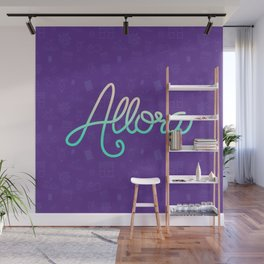 Cool Word Wall Mural