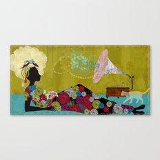 Djamilla Canvas Print
