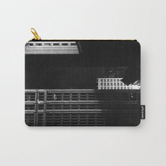 architecture immeuble noir blanc 4 Carry-All Pouch