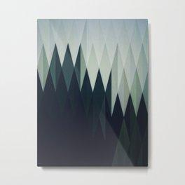 Diamond Forest Metal Print