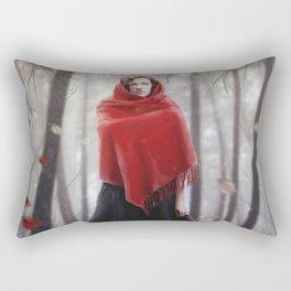 Little Red Riding Hood .. 20 years later Rectangular Pillow