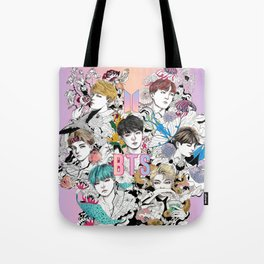 BTS Members -Love Yourself Tote Bag