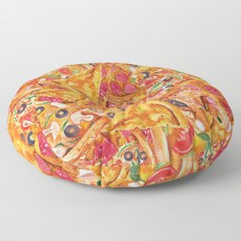 All About Pizza Floor Pillow