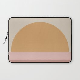 Neutral 70's Minimal Sunset Laptop Sleeve