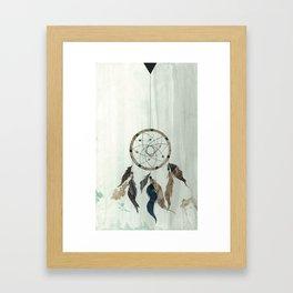 Dream Catcher Reservations Framed Art Print