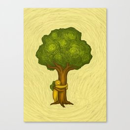 Tree Hugger Canvas Print