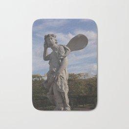 angel ,  little angel ,  cherub Bath Mat