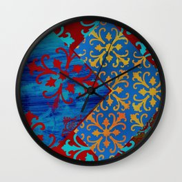 MOTIF COLLAGE Wall Clock