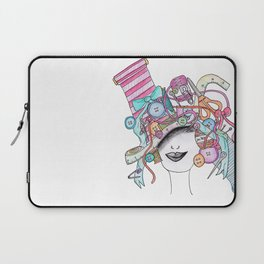 365 cabelos - sewing Laptop Sleeve