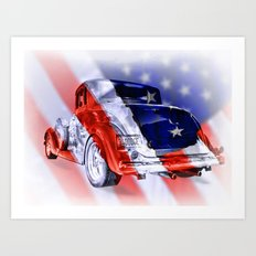 American Classic Art Print