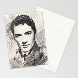 Gregory Peck, Hollywood Legend Stationery Cards