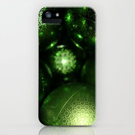 Christmas balls iPhone Case