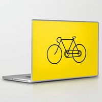 bicycle Laptop & iPad Skins featuring Bicycle by Luke Turner