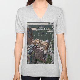 Elevation - New York City Unisex V-Neck