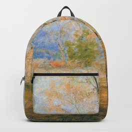 George Inness - Gray Day, Goochland - Digital Remastered Edition Backpack
