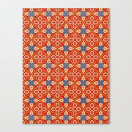 Moroccan Motet Pattern Canvas Print