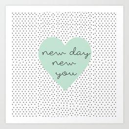 new you Art Print