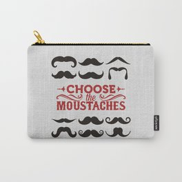 Choose the mustaches Carry-All Pouch