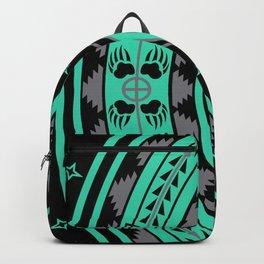 Bear Spirit (Aqua) Backpack