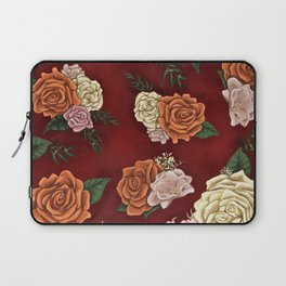 Red luxury flowers Laptop Sleeve