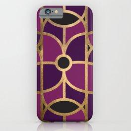 Art Deco Graphic No. 42 iPhone Case