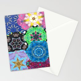 Colorful mandalas Stationery Cards