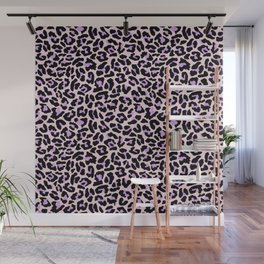 Pastel leopard fur II Wall Mural