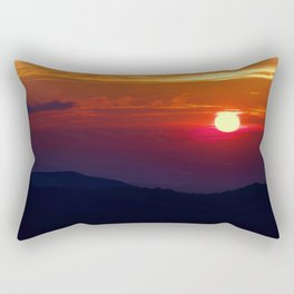 Great Smoky Mountain Sunset Rectangular Pillow