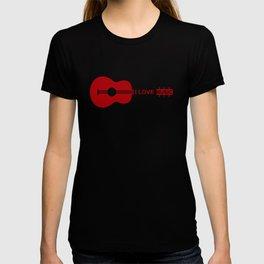 I love music #society6 #decor #buyart #artprint T-shirt