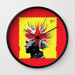 Punk Rocker Wall Clock
