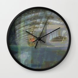 Milan-Train Station2 Wall Clock