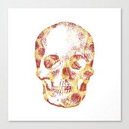 Pepperoni Head Canvas Print