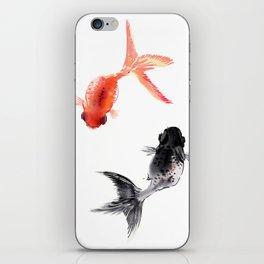Two KOI , Feng Shui, Fish art, iPhone Skin