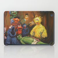 kermit iPad Cases featuring The Anatomy Lesson of Dr. Bird by Hillary White