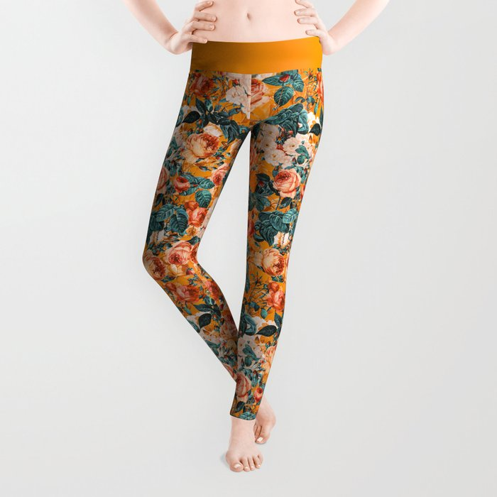 SUMMER GARDEN III Leggings