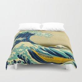 The Great Wave Duvet Cover