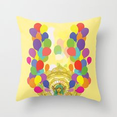 The Words We Speak Throw Pillow